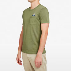 BIRD POCKET T-SHIRT  PINE GREEN  hi-res