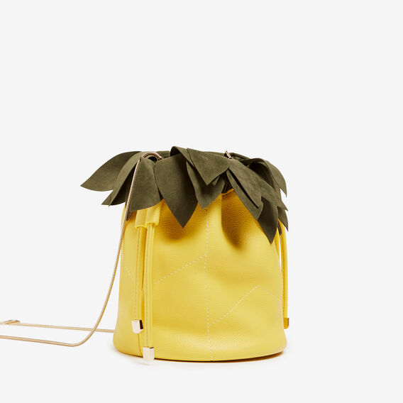 PINEAPPLE BUCKET BAG  YELLOW  hi-res