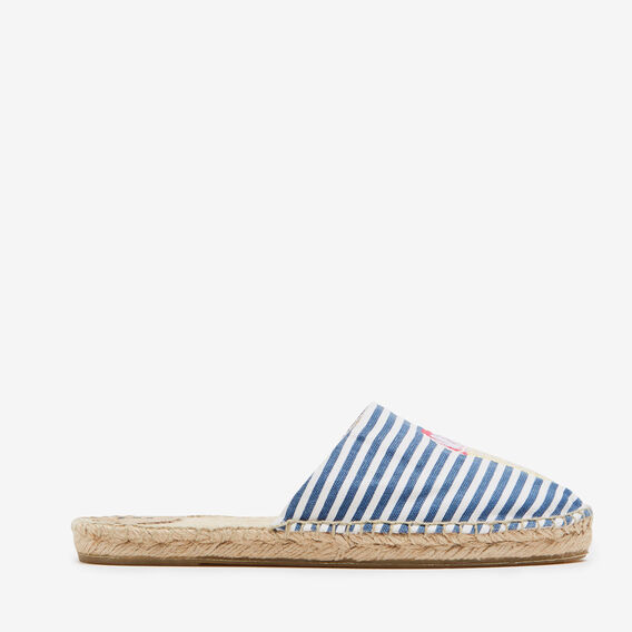 POOL SIDE ESPADRILLE  NAVY/MULTI  hi-res