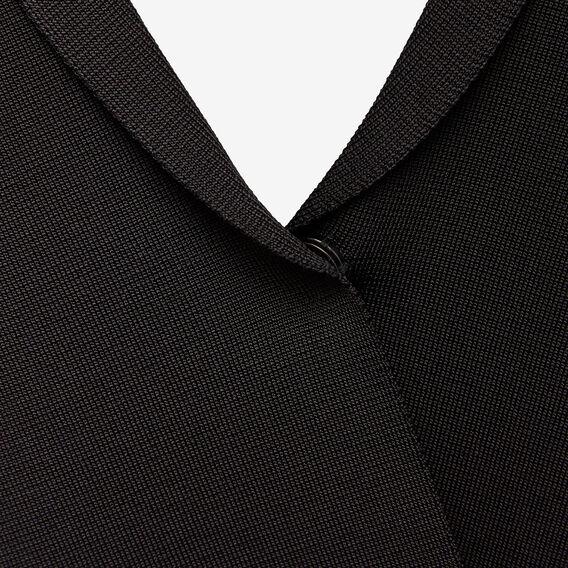 MILANO CREPE CARDIGAN  BLACK  hi-res