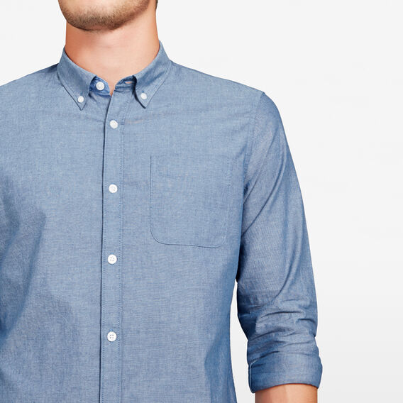 CHAMBRAY SLIM FIT SHIRT  CHAMBRAY OXFORD  hi-res