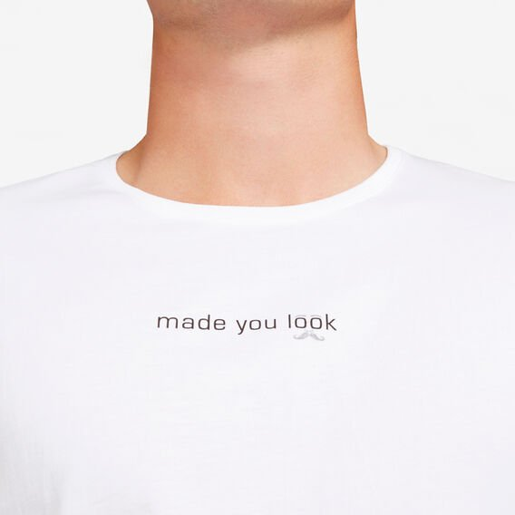 MADE YOU LOOK T-SHIRT  WHITE  hi-res