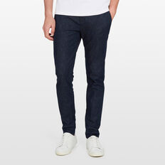 SLIM FIT STRETCH CHINO PANT  DENIM  hi-res
