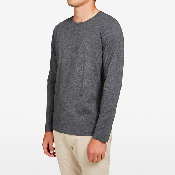 CLASSIC LONG SLEEVE T-SHIRT  NEO CHARCOAL MARL  hi-res