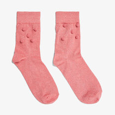 LUREX SOCK  PINK  hi-res