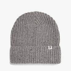 SPECKLE BEANIE  GREY MARLE  hi-res