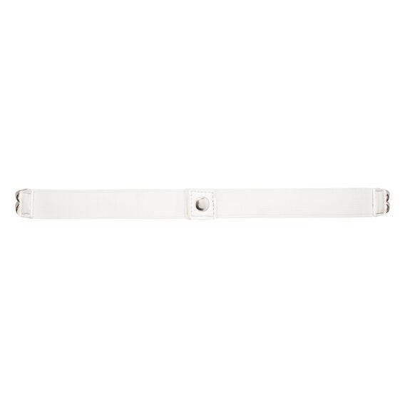 NAUTICAL OR NICE BELT  WHITE/SILVER  hi-res