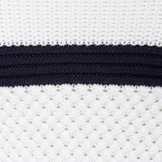BASKET WEAVE BLOCK KNIT  NOCTURNAL/SUMMER WHI  hi-res