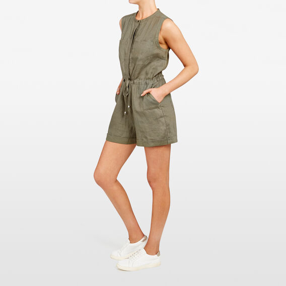 SAFARI PLAYSUIT  KHAKI  hi-res