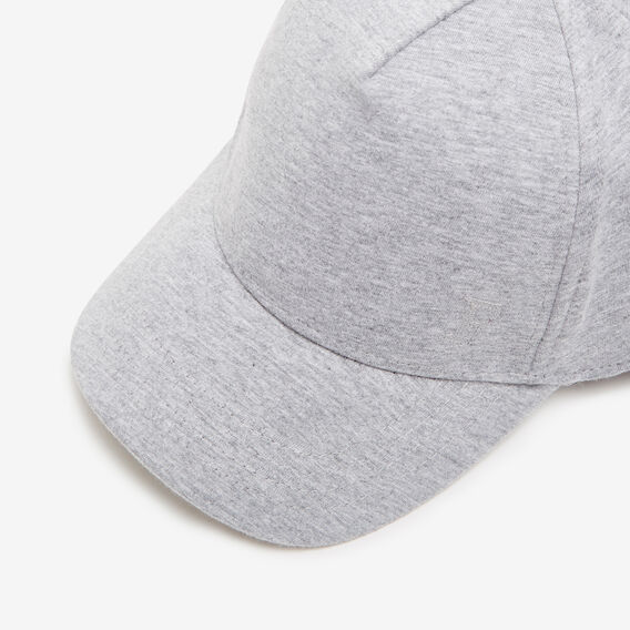 SIMPLE JERSEY CAP  GREY MARLE  hi-res