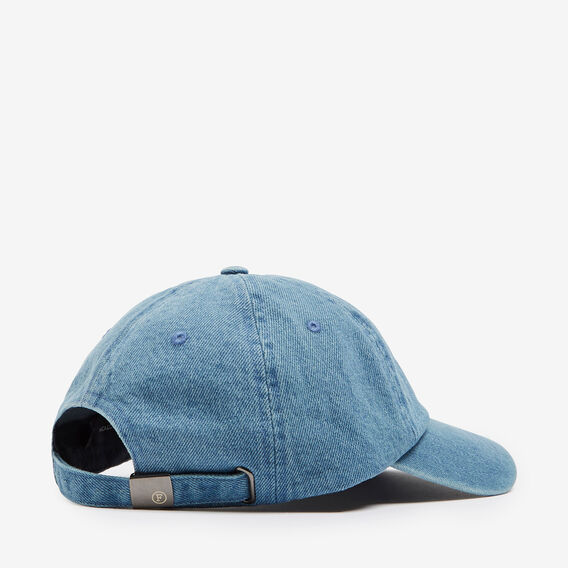 WASHED DENIM CAP  LIGHT DENIM  hi-res