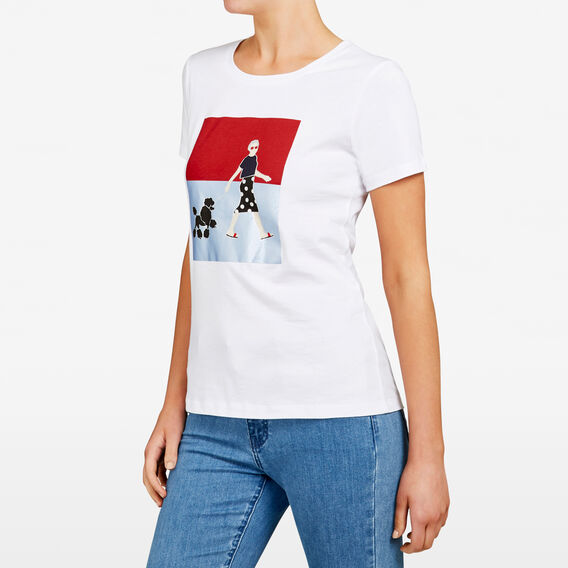 PLACEMENT PRINTED TEE  SUMMER WHITE MULTI  hi-res