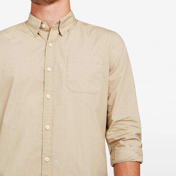 SOFT POPLIN SLIM FIT SHIRT  SAFARI SANDS  hi-res