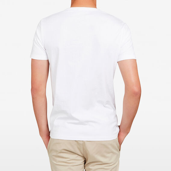 FCUK MOTIF T-SHIRT  WHITE  hi-res