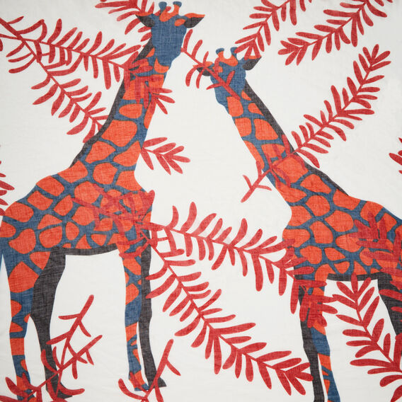 TALKING GIRAFFE SCARF  MULTI  hi-res