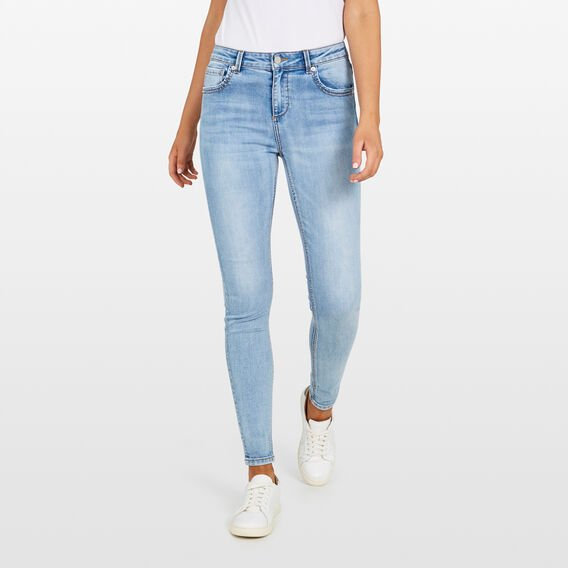 GET SKINNY JEAN  LIGHT STONE WASH  hi-res
