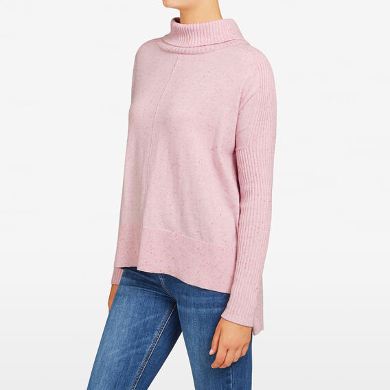 SAMMY SPECKLE KNIT  BLUSH  hi-res