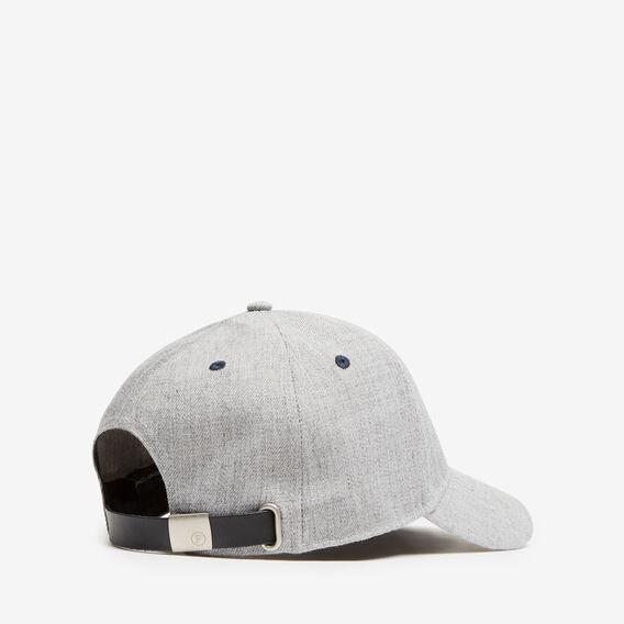 F CAP  GREY MARLE  hi-res