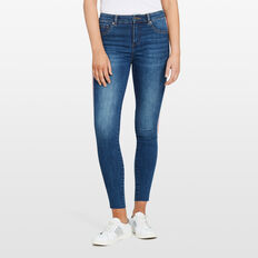 SIDE STRIPE JEANS  STONE WASH  hi-res