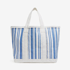 STRIPE TOTE  SEABREEZE/WHITE  hi-res
