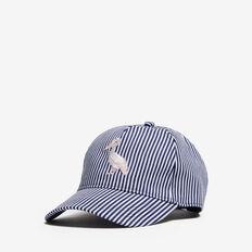 PELICAN STRIPE CAP  NAVY/WHITE MULTI  hi-res