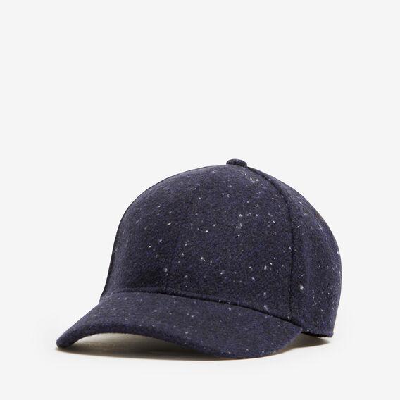 SPECKLE FELT CAP  MARINE BLUE  hi-res