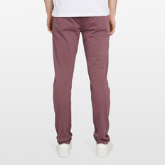 SLIM FIT STRETCH CHINO PANT  LIGHT BERRY  hi-res