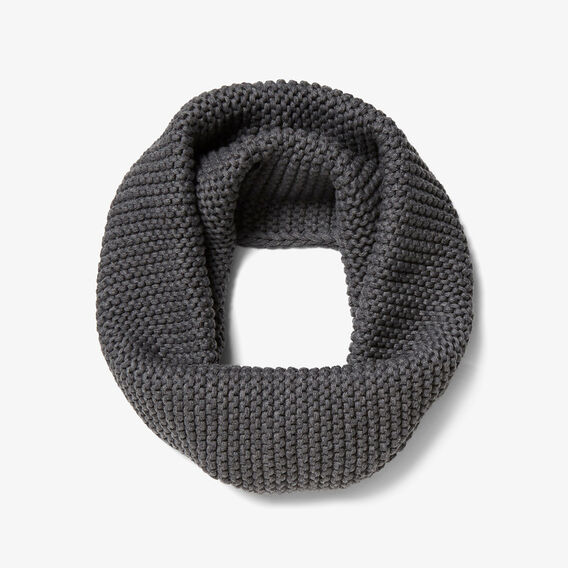 CHUNKY SNOOD  CHARCOAL  hi-res