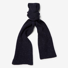 SPECKLE SCARF  NAVY MARL  hi-res