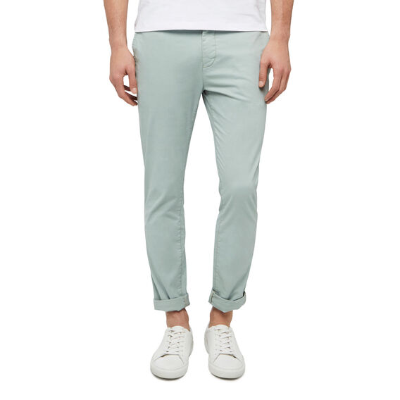 SLIM FIT STRETCH CHINO PANT  SEA MIST GREEN  hi-res