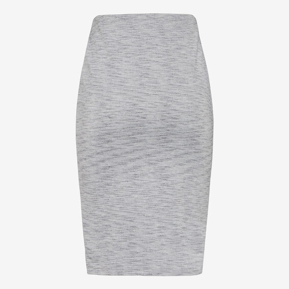 SPACE DYE BODY CON SKIRT  GREY MARLE  hi-res