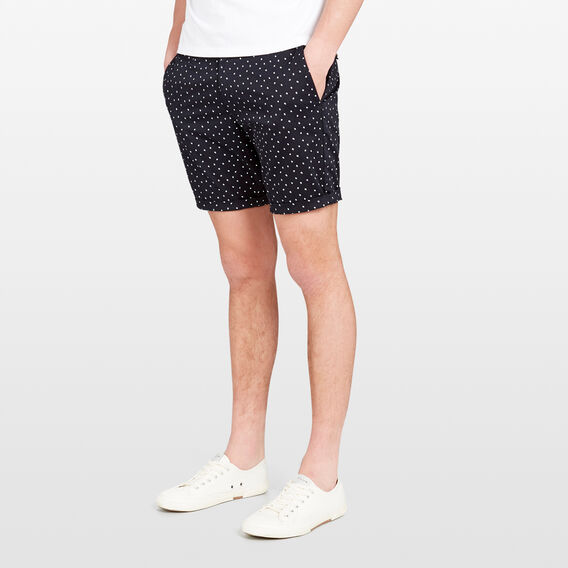 SHADOW DOT SHORT  OXFORD BLUE  hi-res