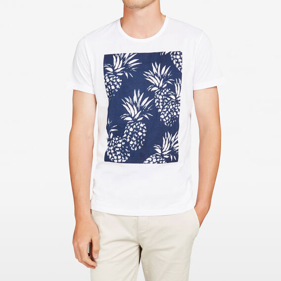 PINEAPPLE CREW NECK T-SHIRT  WHITE  hi-res