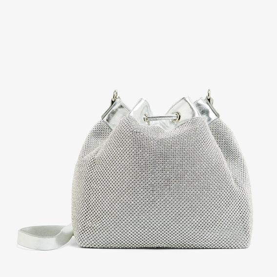 SPARKLE BUCKET BAG  SILVER  hi-res