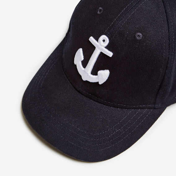 AHOY ANCHOR CAP  MARINE BLUE  hi-res