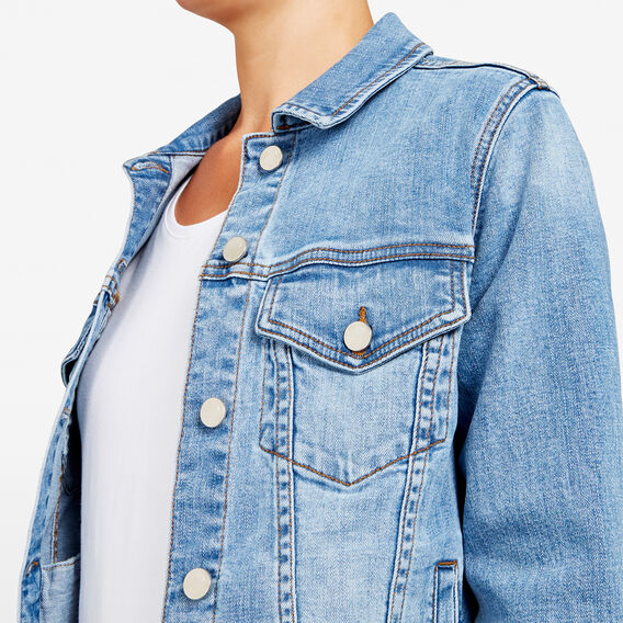STONE WASH DENIM JACKET  STONE WASH  hi-res