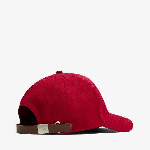FORTUNE DOG CAP  RED  hi-res