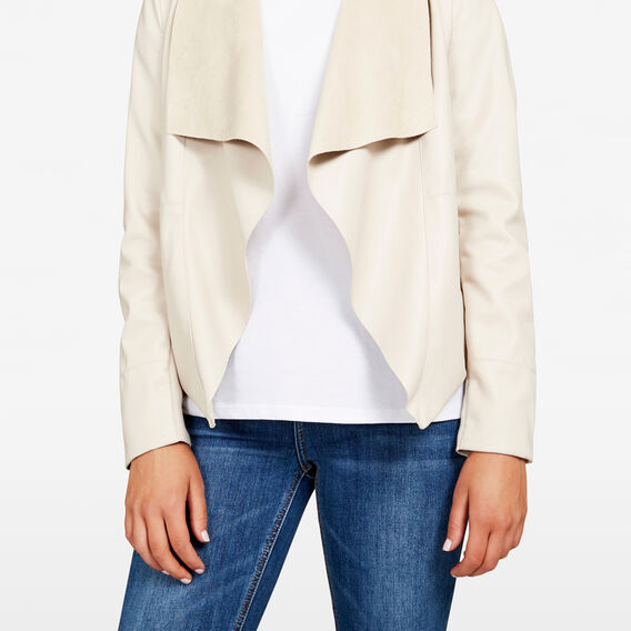 WATERFALL JACKET  BEIGE  hi-res
