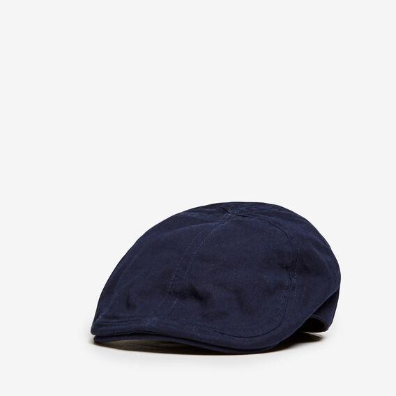 VINTAGE VACATION FLAT CAP  MARINE BLUE  hi-res