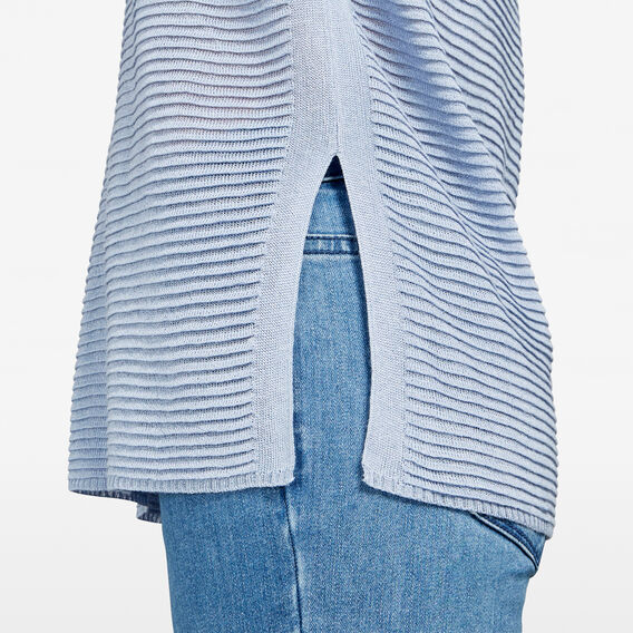 LIGHT WEIGHT KNIT  LIGHT BLUE  hi-res