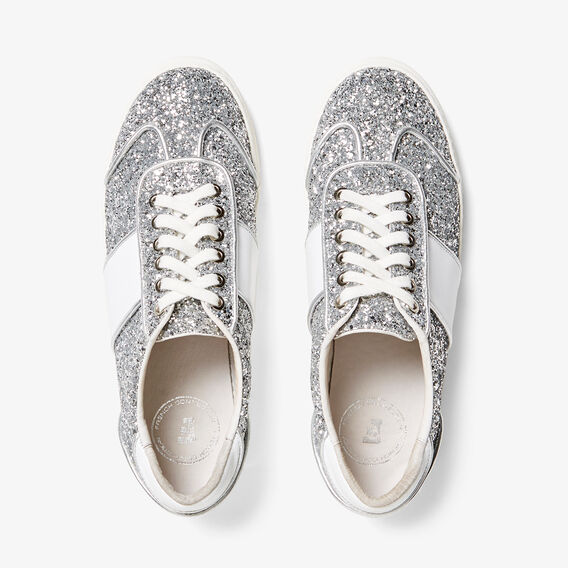 GLITTER SNEAKERS  SILVER  hi-res