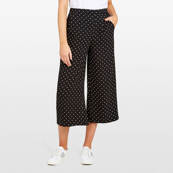 MINI SPOT CULOTTE  BLACK/SUMMER WHITE  hi-res