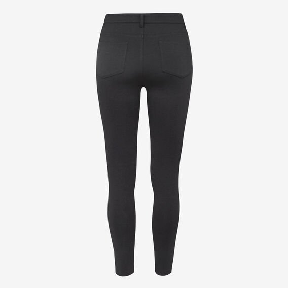 POCKET PONTI PANT  BLACK  hi-res