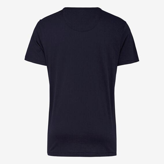 RUDE BUNNY CREW NECK T-SHIRT  MARINE BLUE  hi-res