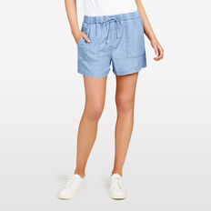 ALL DAY  CHAMBRAY  SHORT  CHAMBRAY  hi-res