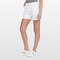 KARLA COTTON SHORT  WHITE  hi-res