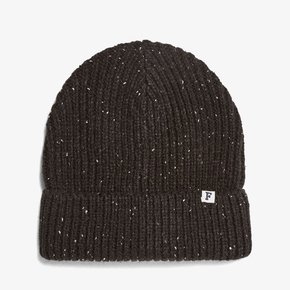 SPECKLE BEANIE  BLACK  hi-res