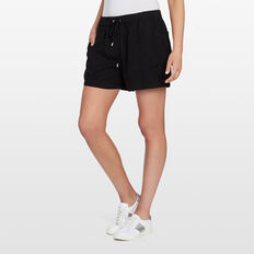LYOCELL SHORT  BLACK  hi-res