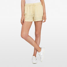 LYOCELL SHORT  SUNSHINE YELLOW  hi-res