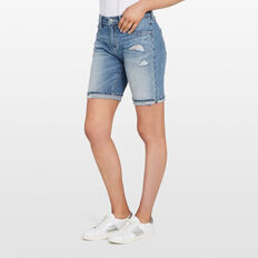BERMUDA DENIM SHORT  INDIGO WASH  hi-res